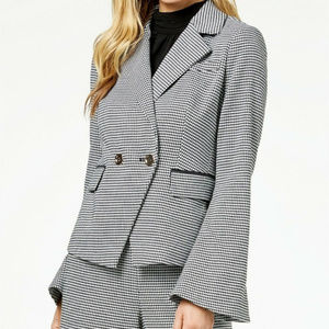 Rachel Zoe Double Breasted Blazer Jacket Black